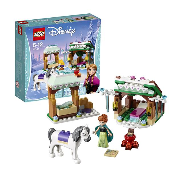 Lego Disney Princess 41147 Конструктор Лего Принцессы Дисней Зимние приключения Анны конструктор lego принцессы дисней королевская конюшня невелички