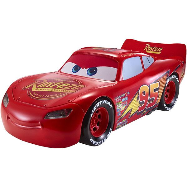 Mattel Cars FGN54 Движущаяся модель МакКуина со световыми и звуковыми эффектами mattel mattel игровой набор cars большой гараж