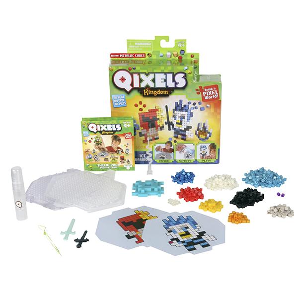 Qixels 87109 Квикселс Набор для творчества Ледяные воины крошкина ножка и ладошка н набор для творчества