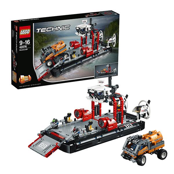 LEGO Technic 42076 Конструктор ЛЕГО Техник Корабль на воздушной подушке
