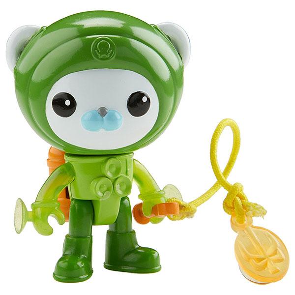 Mattel Octonauts CDP11 Октонавты Капитан Барнакл в костюме с присосками