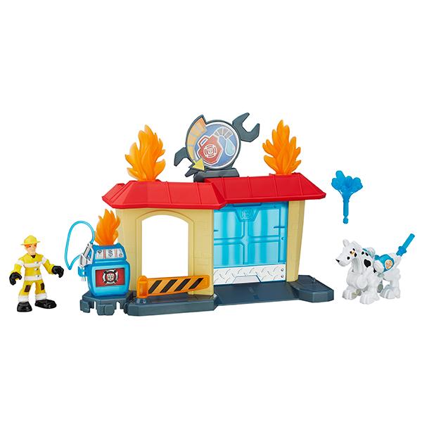 Hasbro Playskool Heroes B4963 Трансформеры Игровой набор Спасатели hasbro play doh игровой набор из 3 цветов цвета в ассортименте с 2 лет