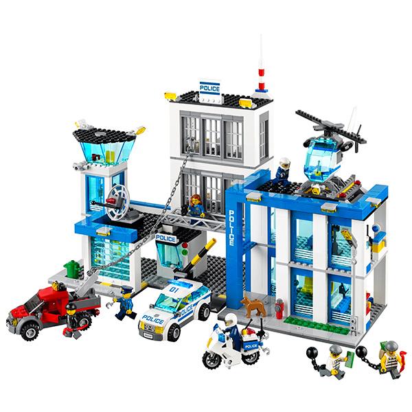 Lego City 60047 Конструктор Лего Город Полицейский участок