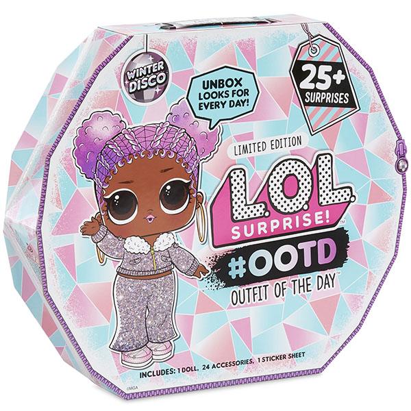 """L.O.L. Surprise 562504 Модный образ """"Зимнее диско"""" (25 сюрпризов)"""