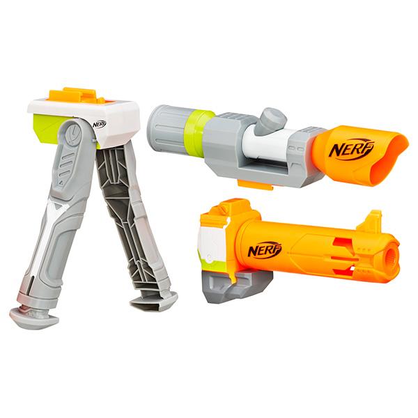 Hasbro Nerf B1537 Нерф Модулус сет4: Меткий стрелок hasbro nerf a9603 нерф зомби страйк переворот бластер