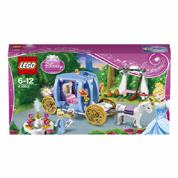 Lego Disney Princess 41053 Конструктор Лего Принцессы Дисней Заколдованная карета Золушки