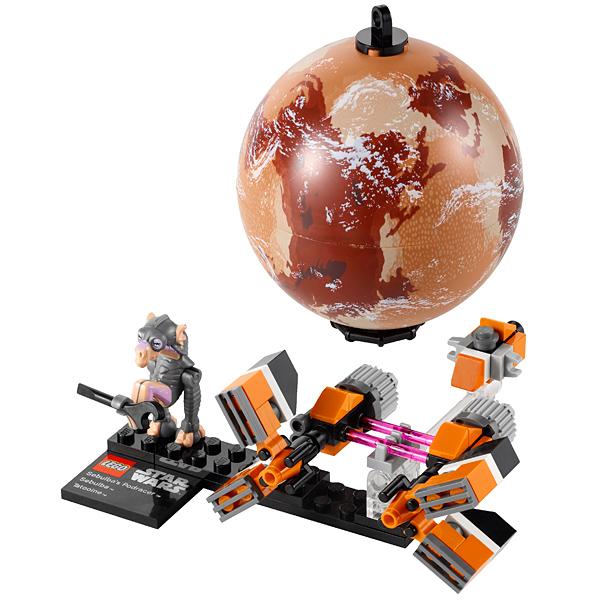 Lego Star Wars 9675 Конструктор Лего Звездные войны Гоночный кар Себульбы и планета Татуин