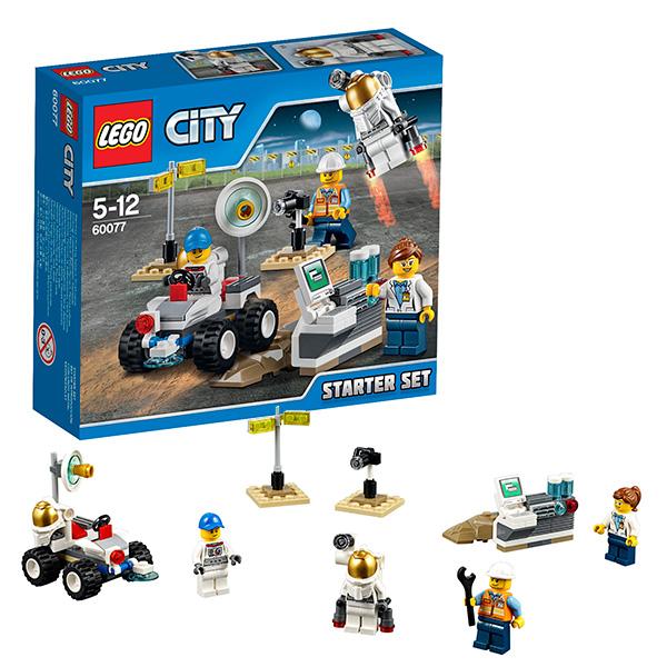 LEGO City 60077 Конструктор ЛЕГО Город Космос, набор для начинающих
