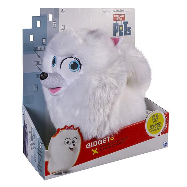Secret Life of Pets 72809-gidget Тайная жизнь домашних животных Плюш со звуковыми эффектами- Гиджет