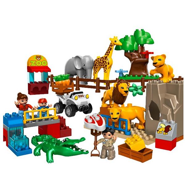 Лего Дупло 5634 Конструктор Кормление в зоопарке