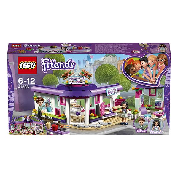 LEGO Friends 41336 Конструктор ЛЕГО Подружки Арт-кафе Эммы