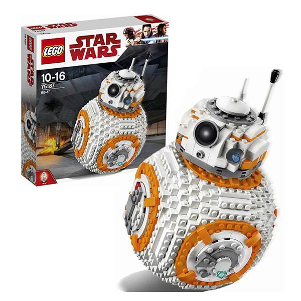 LEGO Star Wars 75187 Конструктор ЛЕГО Звездные Войны ВВ-8 lego star wars вв 8 75187