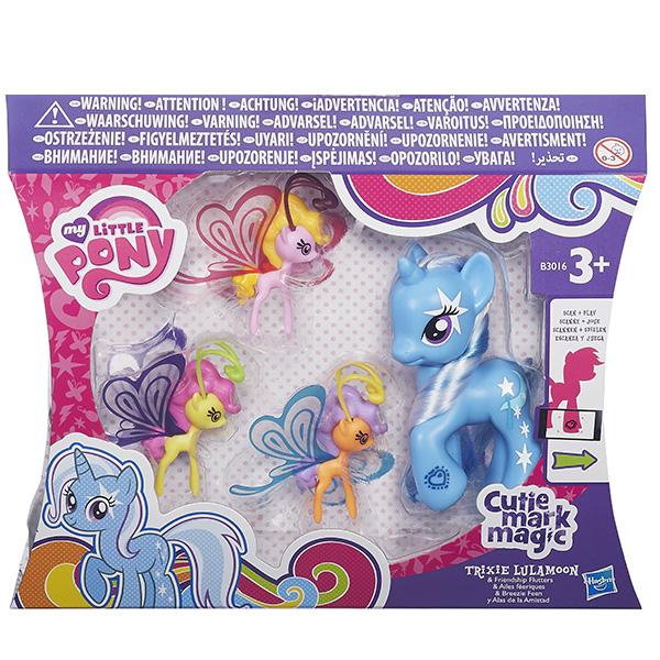 """Hasbro My Little Pony B0358 Пони """"Делюкс"""" с волшебными крыльями (в ассортименте)"""