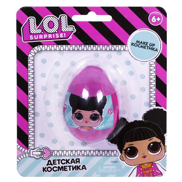 Corpa LOL5105 Детская декоративная косметика LOL в маленьком яйце на блистере профессиональная косметика скин докторс цена