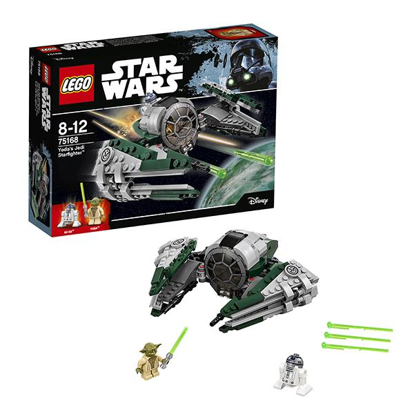 Lego Star Wars 75168 Конструктор Лего Звездные Войны Звёздный истребитель Йоды конструктор lepin star plan истребитель набу 187 дет 05060