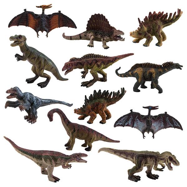 Фото - Игрики ZOO TAV011 Фигурка Динозавр малая, 12 видов (в ассортименте) полесье набор игрушек для песочницы 468 цвет в ассортименте