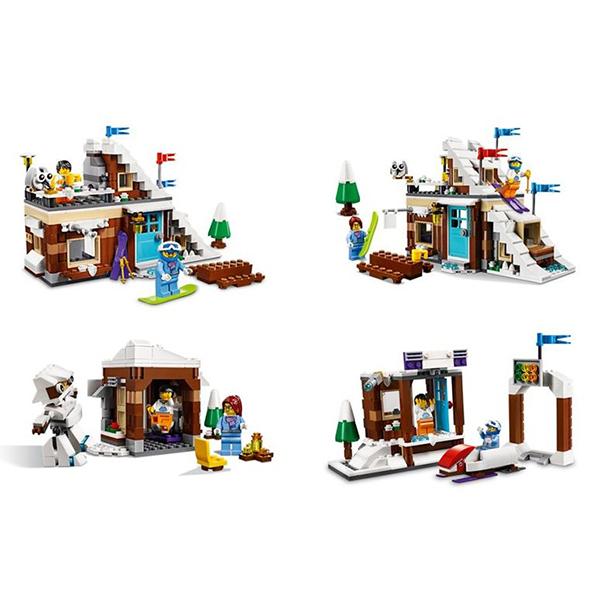 Конструктор Лего Криэйтор 31080 Конструктор Зимние каникулы (модульная сборка)