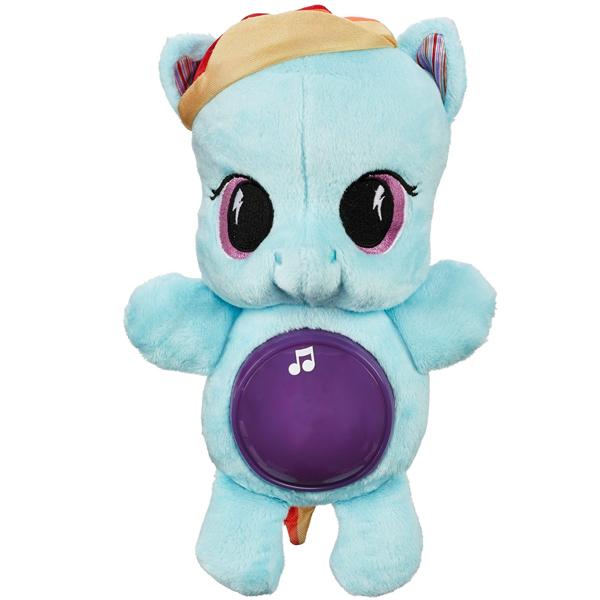 Hasbro My Little Pony B1652 Май Литл Пони Игрушка мягкая пони-ночник