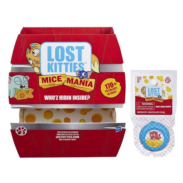 Hasbro Lost Kitties E6292 Мышка-малышка