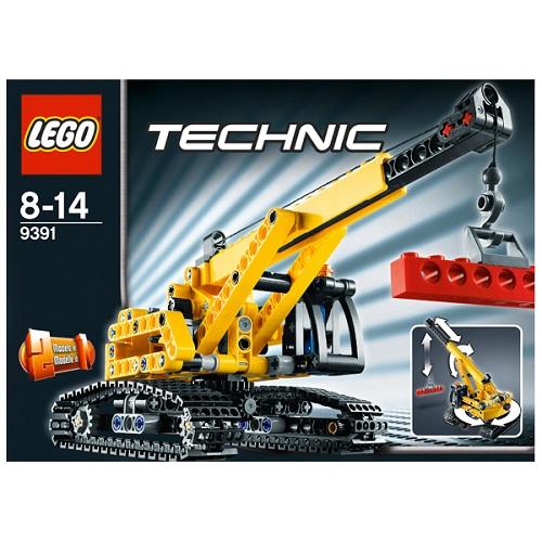 Лего Техник 9391 Конструктор Гусеничный кран
