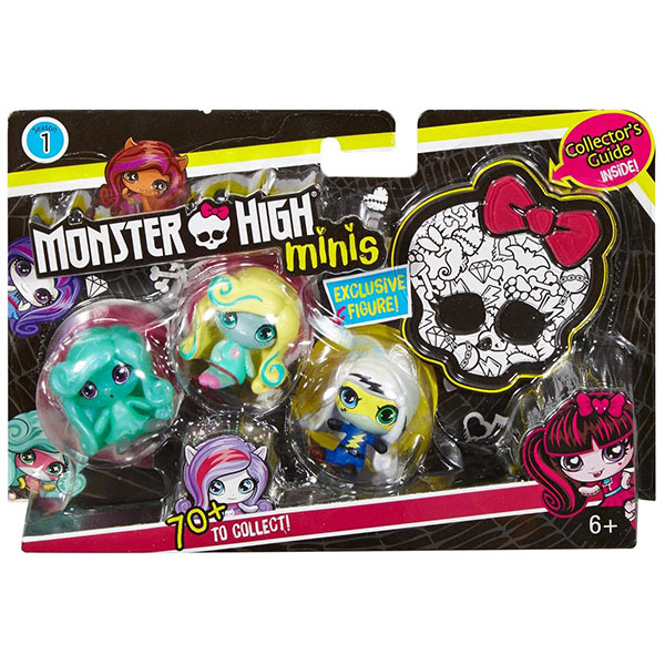 Mattel Monster High DVF41 Мини-фигурки (в ассортименте)