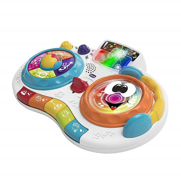 CHICCO TOYS 94931AR Музыкальная игрушка Пульт DJ (нет русского языка)