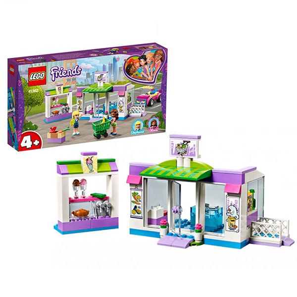 LEGO Friends 41362 Конструктор ЛЕГО Подружки Супермаркет Хартлейк Сити цена