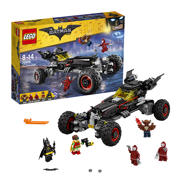 Lego Batman Movie 70905 Конструктор Лего Фильм Бэтмен: Бэтмобиль 2017 lepin 07045 batman movie batmobile features robin man bat kabuki building block toys compatible with legoe batman 70905