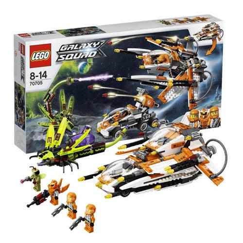 Lego Galaxy Squad 70705_1 Конструктор Лего Галактический отряд Охотник за инсектоидами