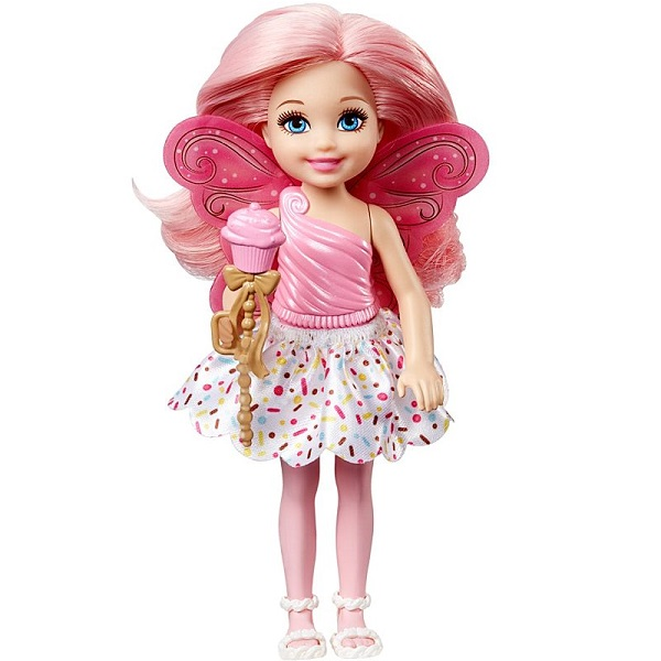Mattel Barbie DVM88 Барби Маленькая фея Челси Капкейк mattel кукла челси barbie