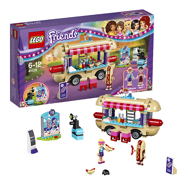 Lego Friends Парк развлечений: фургон с хот-догами 41129