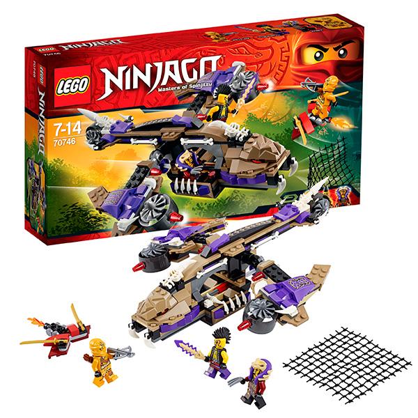 Lego Ninjago 70746 Конструктор Лего Ниндзяго Вертолётная атака Анакондрай