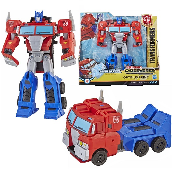 Hasbro Transformers E1886/E3639 Трансформер КИБЕРВСЕЛЕННАЯ 19 см Оптимус Прайм hasbro трансформеры transformers крэш комбайнер гримлок и оптимус прайм