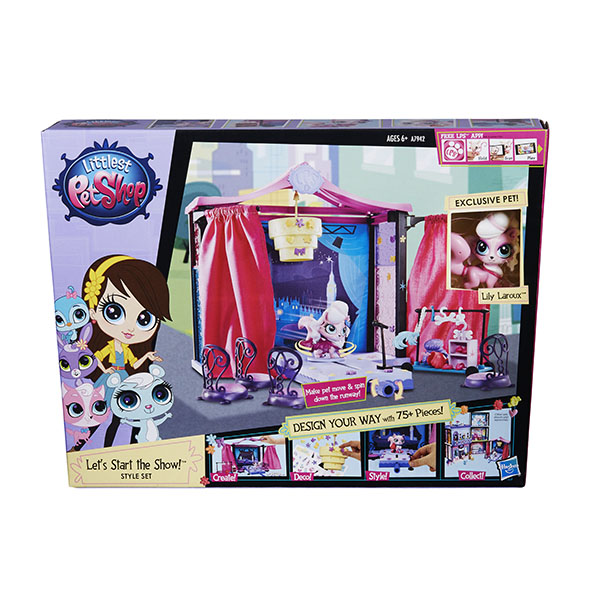 """Hasbro Littlest Pet Shop A7942 Литлс Пет Шоп Набор """"Стильный подиум для показа мод"""""""