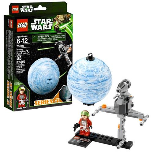 Конструктор Lego Star Wars 75010 Лего Звездные Войны Истребитель B-wing и планета Эндор