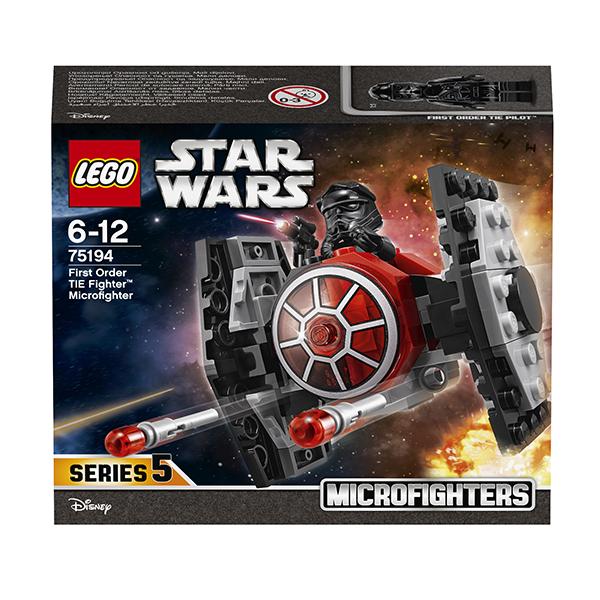 Lego Star Wars 75194 Конструктор Лего Звездные Войны Микрофайтер Истребитель СИД Первого Ордена