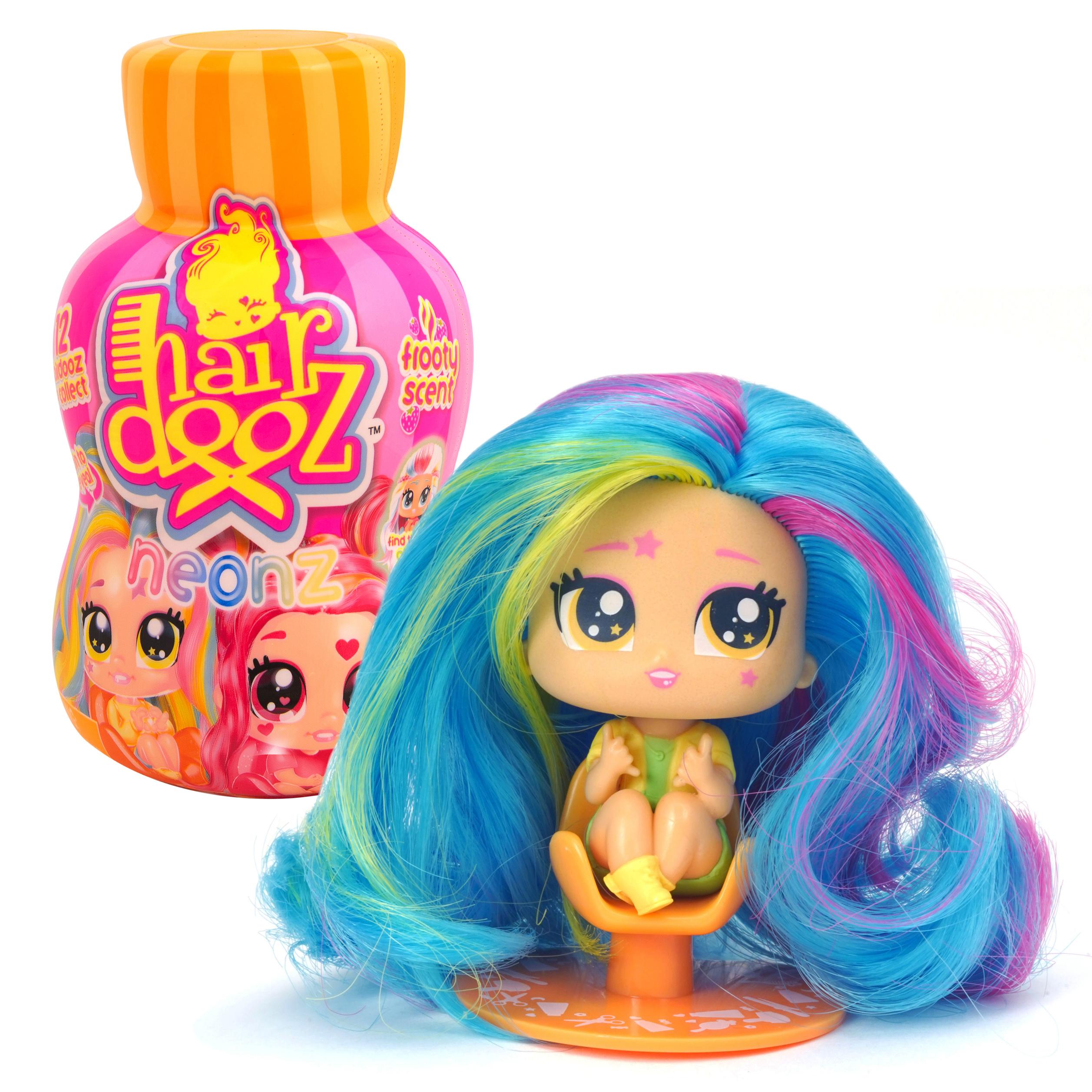 Hairdooz 37305 Хэардуз Игровой набор Куколка Неон в парикмахерской с аксессуарами (в ассортименте)