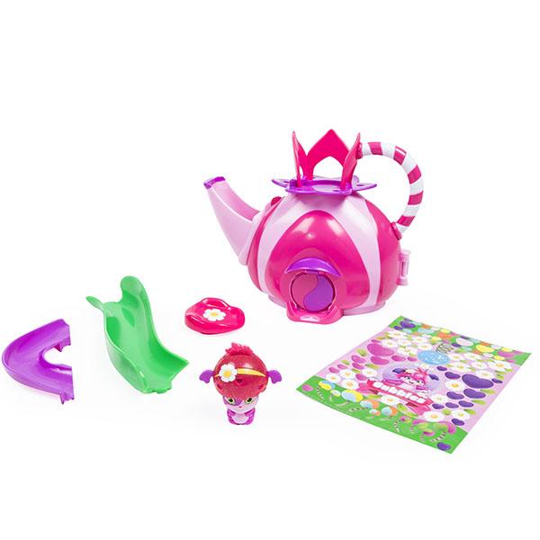 Popples 56306 Малыши-прыгуши Игровой набор Чайный домик игровые фигурки popples малыши прыгуши фигурка трансформер