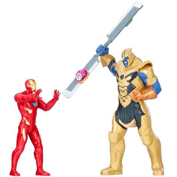 Hasbro Avengers E0559 Игровой набор Танос и Железный Человек