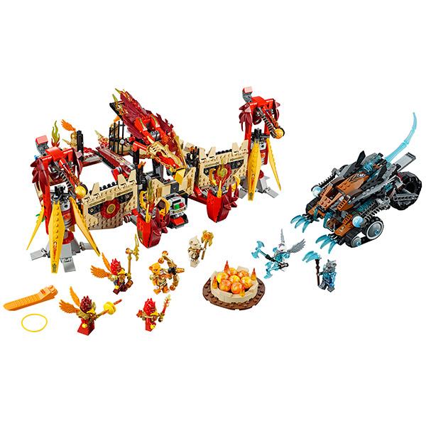 Лего Чима 70146 Конструктор Огненный летающий Храм Фениксов