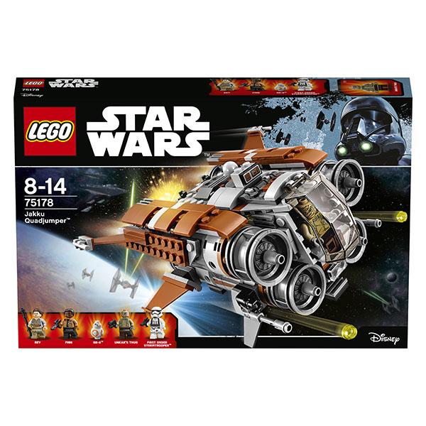 LEGO Star Wars 75178 Конструктор ЛЕГО Звездные Войны Квадджампер Джакку