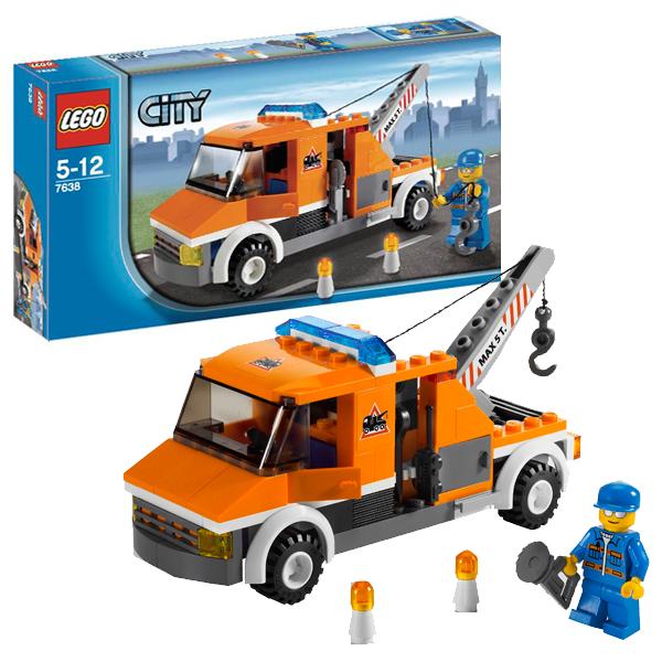 LEGO City 7638 Конструктор ЛЕГО Город Аварийный Грузовик