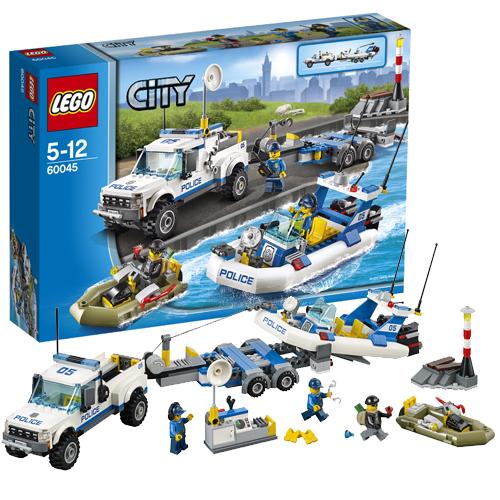 Lego City 60045_1 Конструктор Лего Город Полицейский патруль