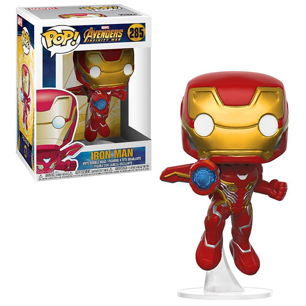 Funko POP 26463F Bobble: Marvel: Avengers Infinity War: Iron Man 26463