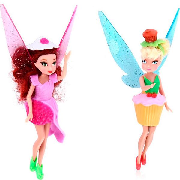 Disney Fairies 850530 Дисней Фея 11 см. Набор из 2 кукол с аксессуарами disney fairies дисней фея набор из 2 кукол с акс