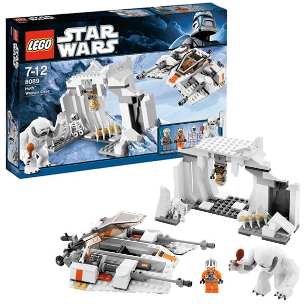 Lego Star Wars 8089 Конструктор Лего Звездные войны Пещера Вампы на планете Хот