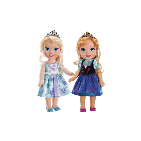 Disney Princess 310330 Принцессы Дисней кукла Холодное Сердце Малышка 26 см (в ассортименте) hasbro модная кукла принцесса в юбке с проявляющимся принтом принцессы дисней b5295 b5299