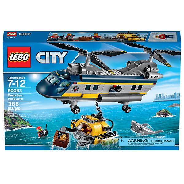 LEGO City 60093 Конструктор ЛЕГО Город Исследовательский вертолет