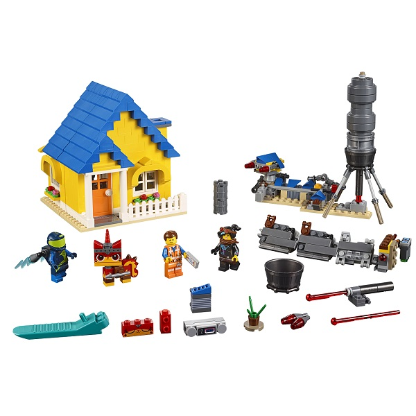 Конструктор Lego Movie 2 70831 Конструктор 2 Дом мечты: Спасательная ракета Эммета!