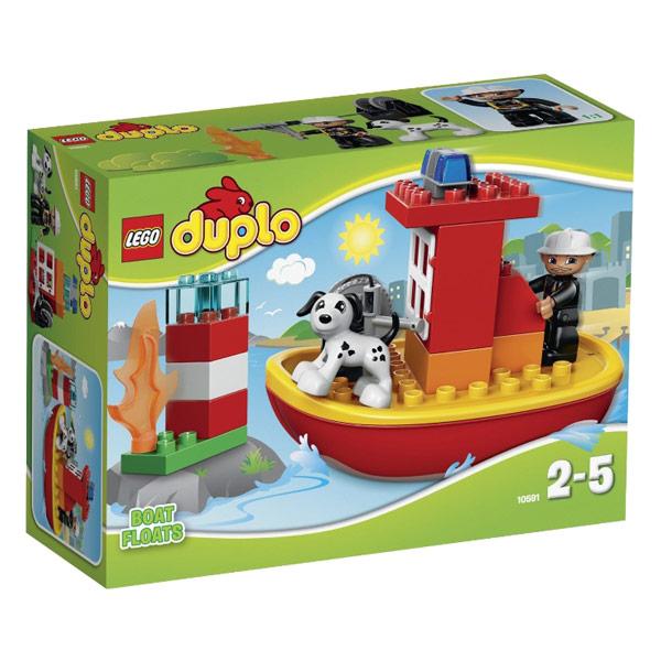 Лего Дупло 10591 Пожарный катер
